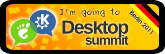 Going to Desktop Summit 2011