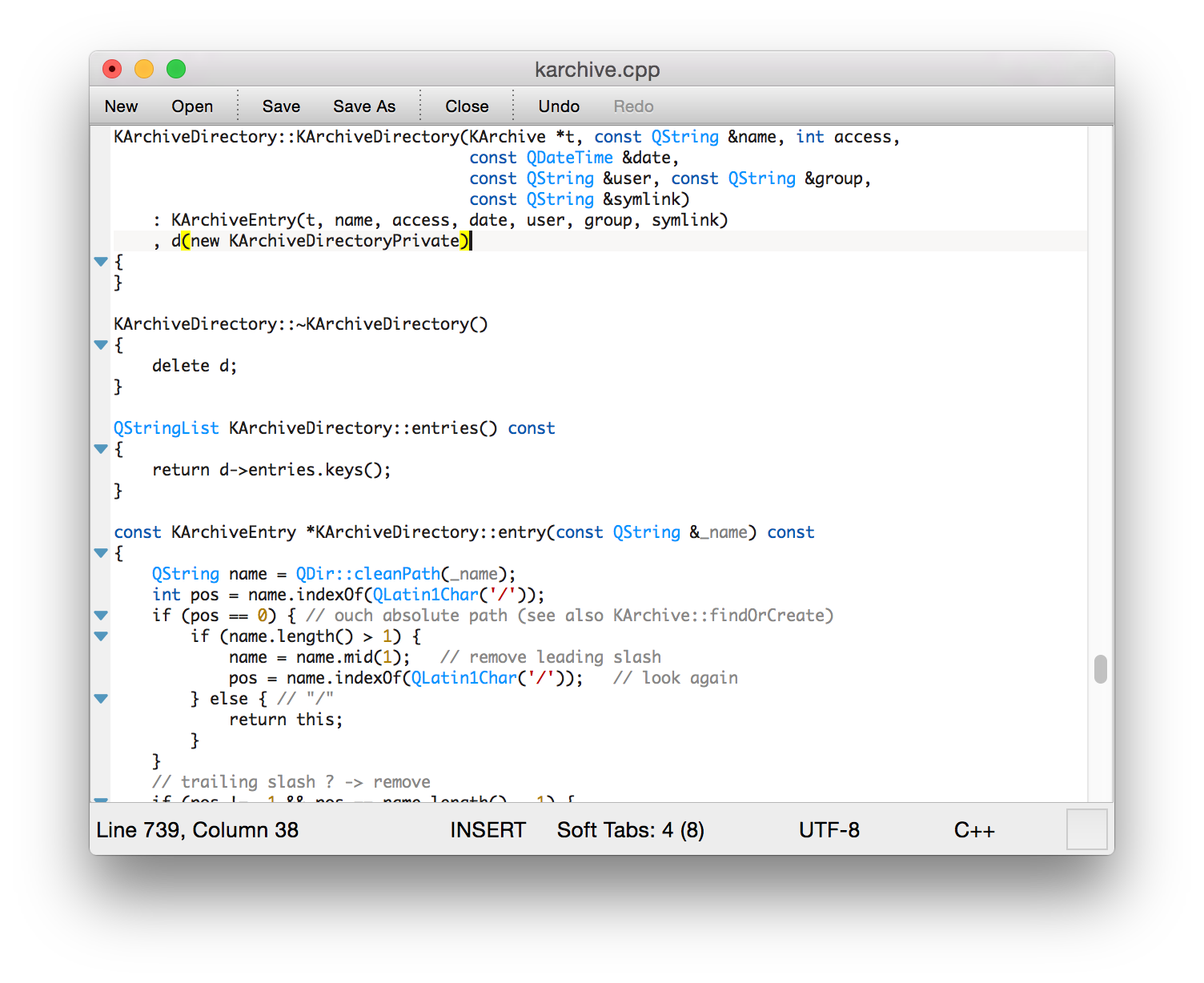 KWrite on Mac – Application Bundle - Kate | Get an Edge in Editing