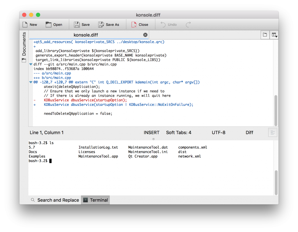 New kate kwrite bundles for mac kate get an edge in editing